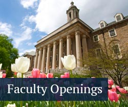 button: faculty openings