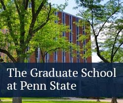 button: graduate school at penn state