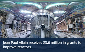 Nuclear engineer receives $3.6 million in grants to improve reactors