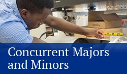 concurrent majors and minors